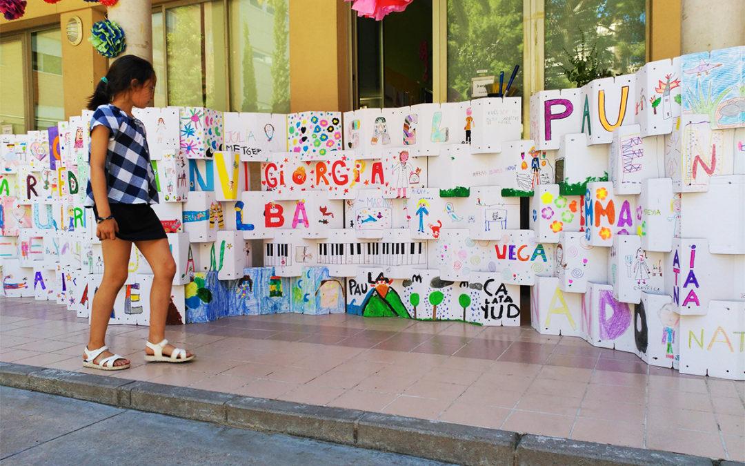 Taller de Cartón en el Colegio Cervantes